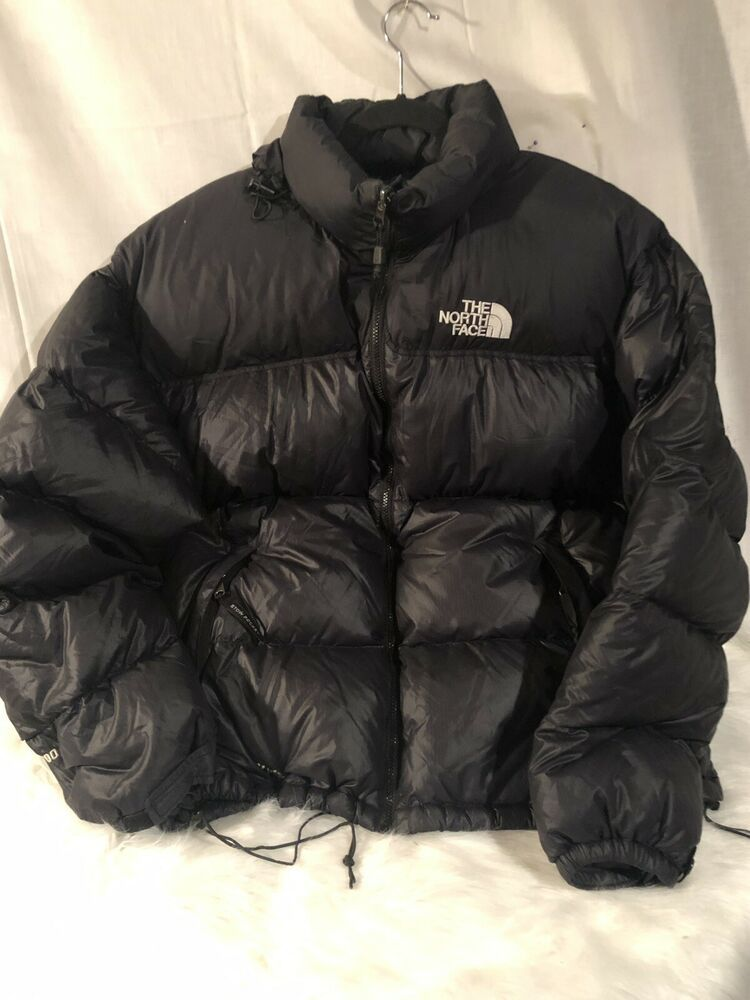 27529d3f6 The North Face Black Goose Down 700 Puffer Coat Men's Size XXL ...