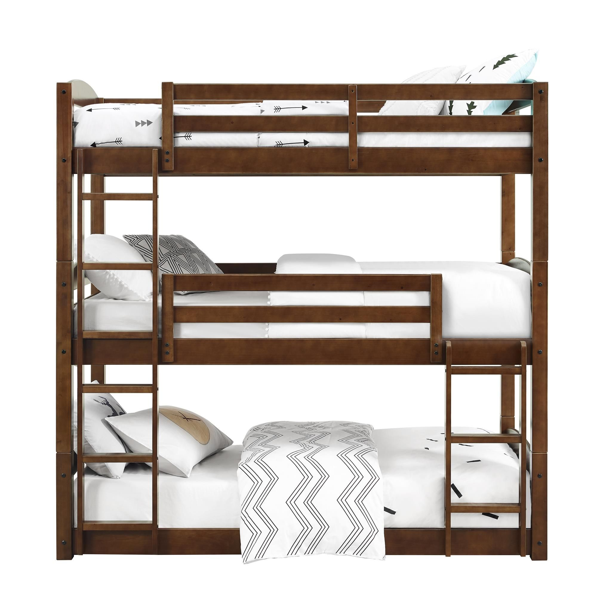 Better Homes Bunk bed with trundle, Triple bunk bed