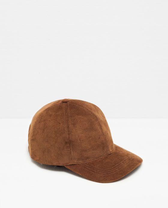 622c7880 Image 1 of CORDUROY CAP from Zara | Clothes | Hats, Baseball hats ...