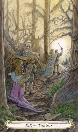 XIX - Le soleil - Le conte de fées de Tarot par Lisa Hunt