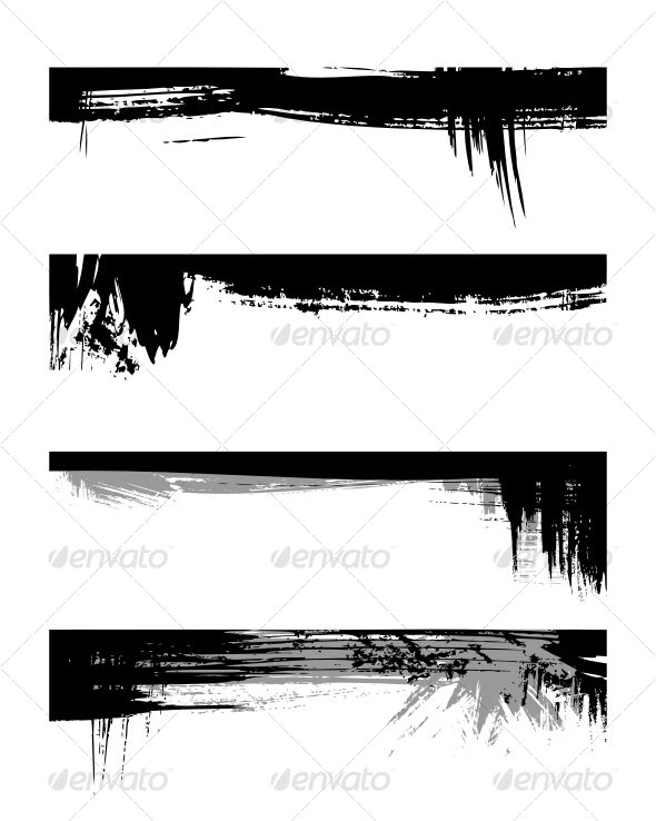 VECTOR DOWNLOAD (.ai, .psd) :: https://vectors.pictures/article-itmid-1000085271i.html ... Set of grunge edges ...  black, border, brush, dirty, edge, frame, grunge, illustration, set, silhouette, splat, vector  ... Vectors Graphics Design Illustration Is