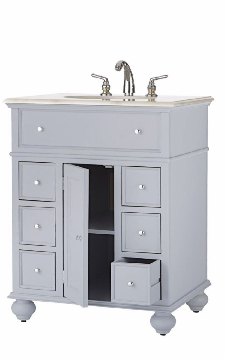 Best Home Decorators Collection Hampton Harbor 28 In Vanity In 400 x 300