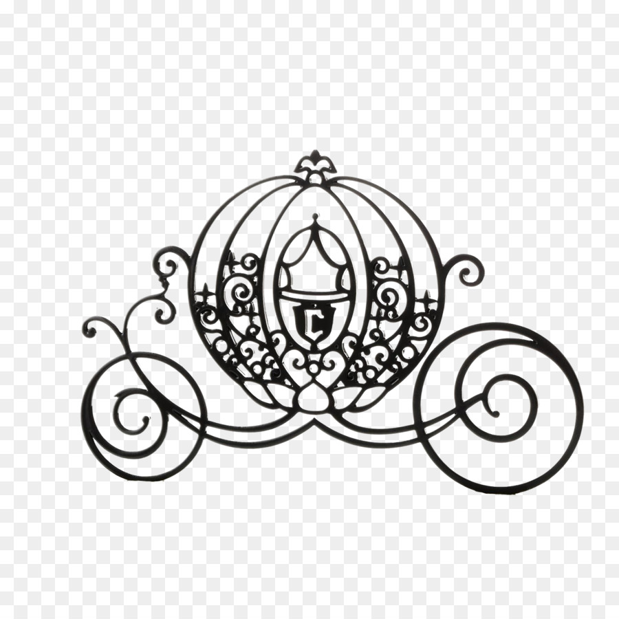 Princess Carriage Silhouette Princess Carriage Cinderella Carriage Castle Drawing