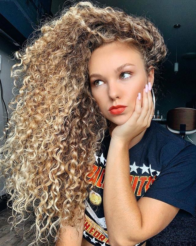 Decorative and Fancy Long Curly Hairstyles #curlyhairstyles | Curly hair styles, Party ...