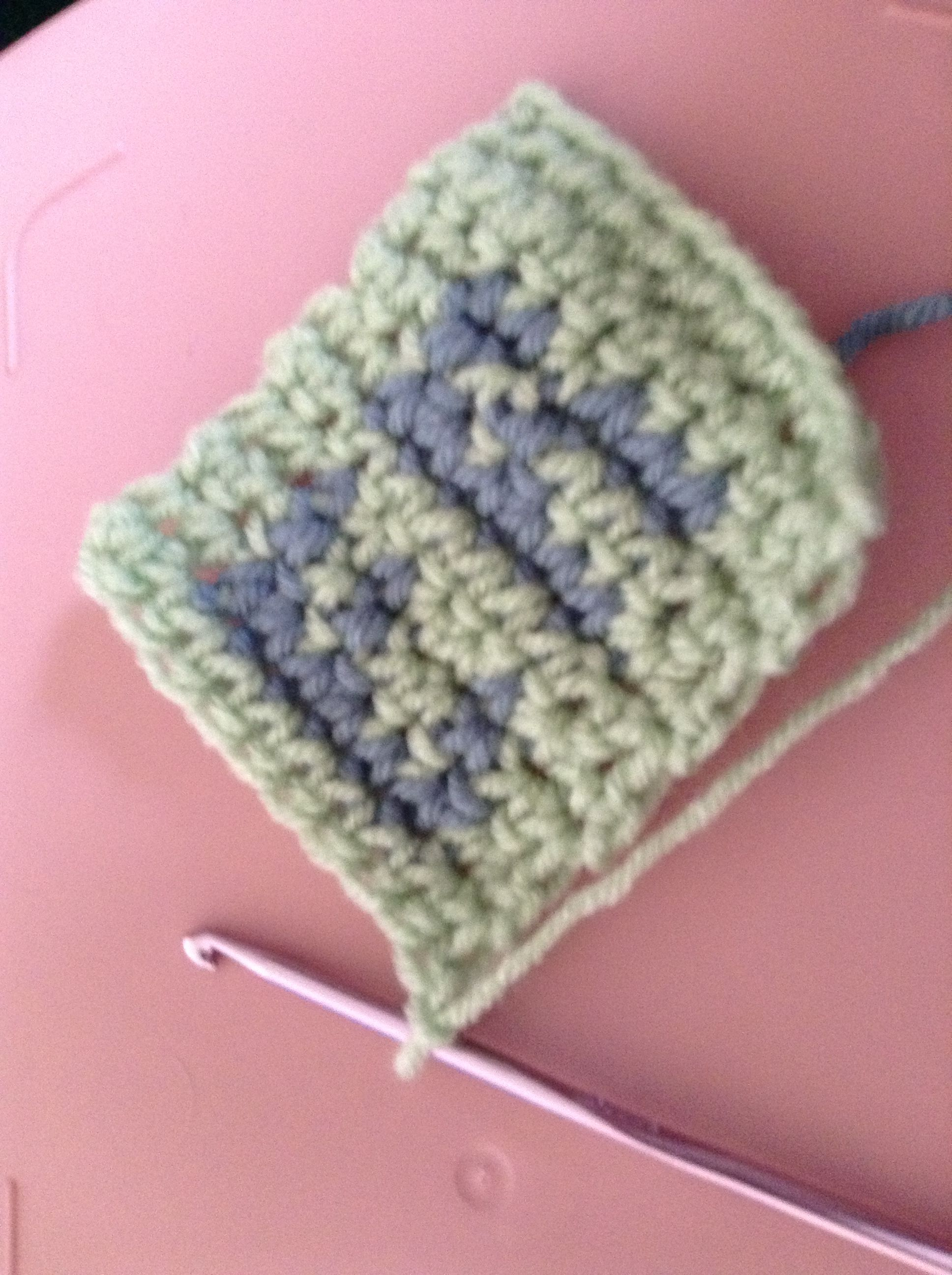 How to follow a chart for tapestry crochet tapestry