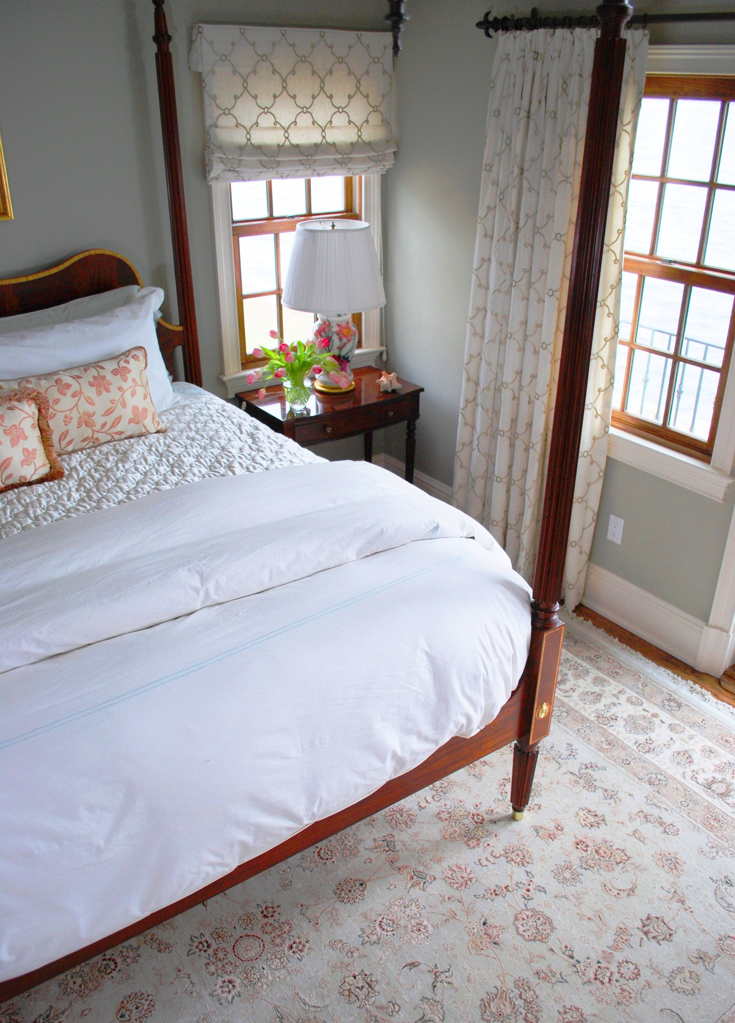 Soft And Light Master Bedroom Benjamin Moore Paris Rain Wall