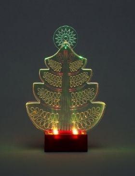 led light layered christmas tree room decoration marks spencer