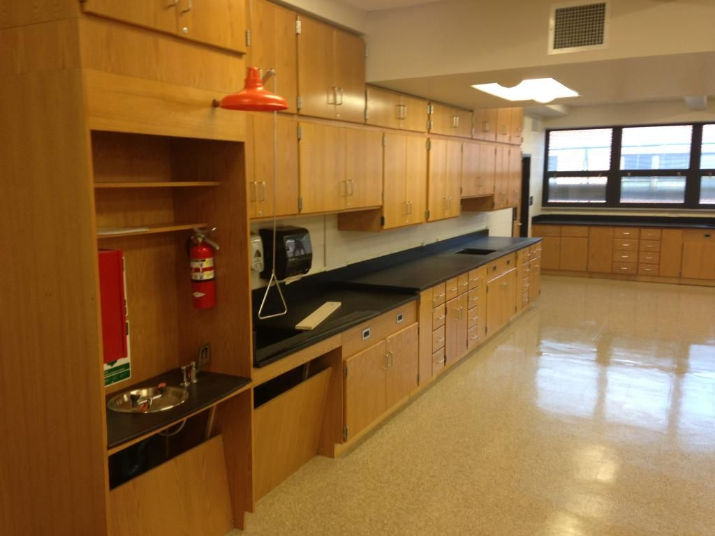 science casework at monmouth regional high school nj science lab