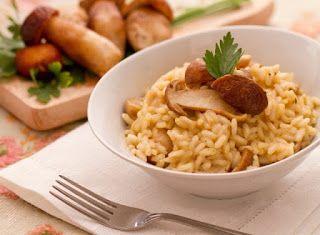 Cucinare che Passione: Risotto ai funghi porcini