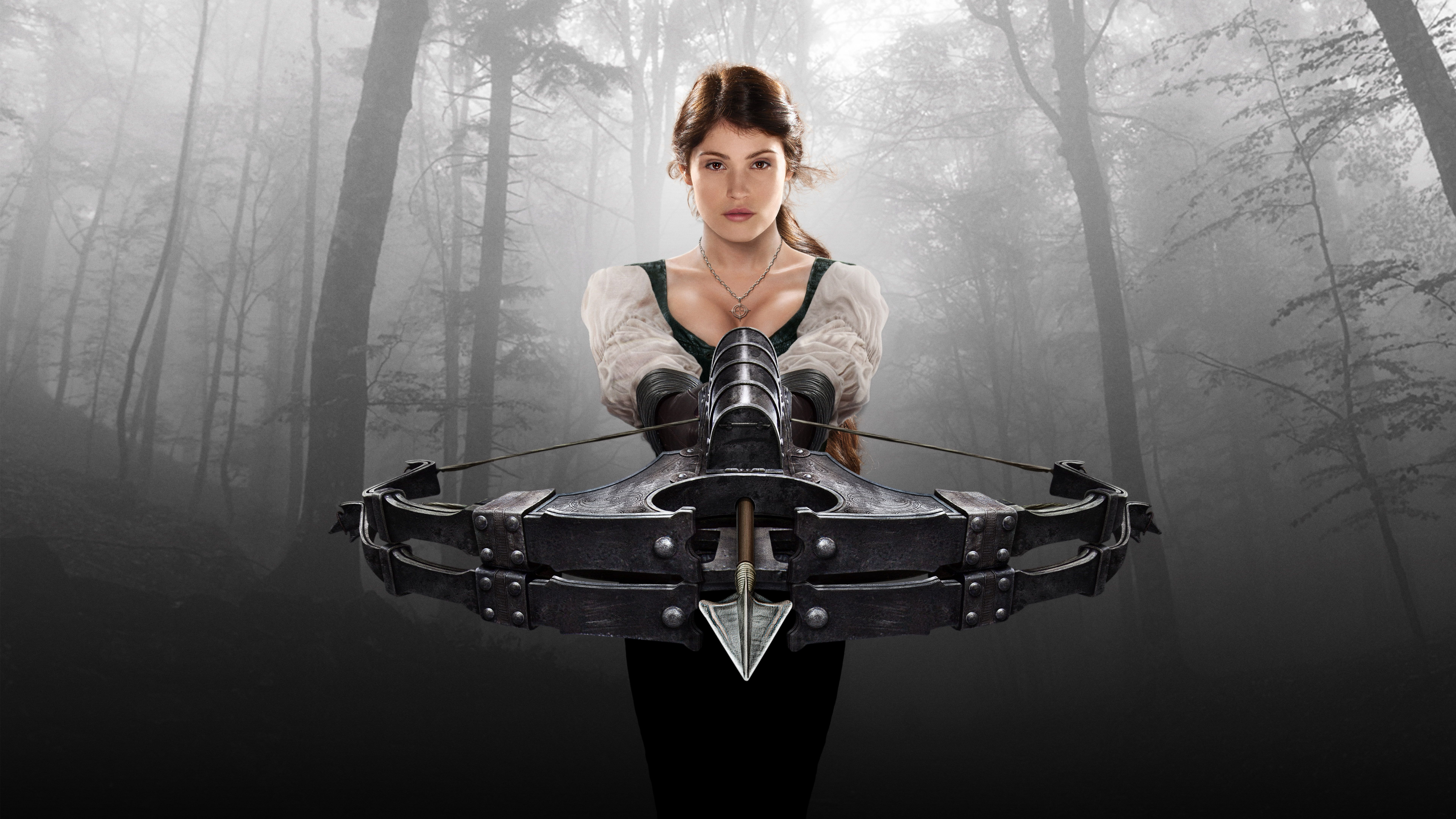 HD wallpaper: 8K, Hansel and Gretel: Witch Hunters, 4K, Gemma Arterton, one person