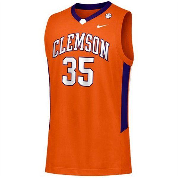 27a3b9e7 Clemson Basketball Jersey   Clemson Jerseys for Men   Clemson ...