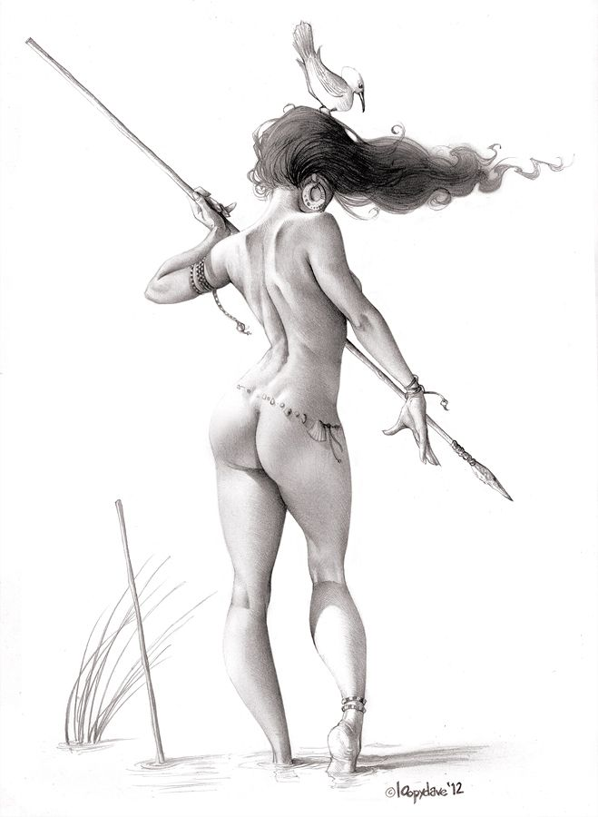 Drawings of women in erotic positions pic 229