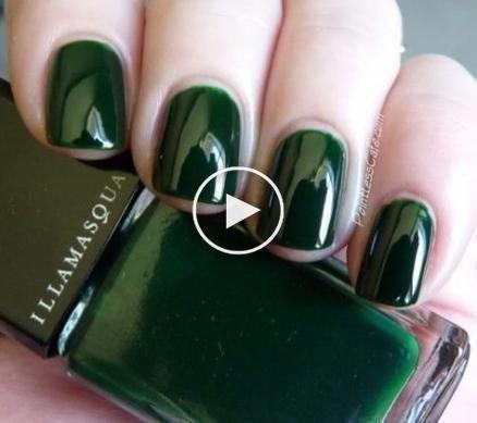 Nails Couleurs vert 21 Idées de les #NailPolishColors