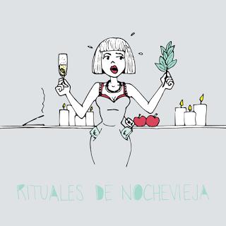 Rastros Ilustrados: Rituales de Nochevieja/New Year's Eve rituals