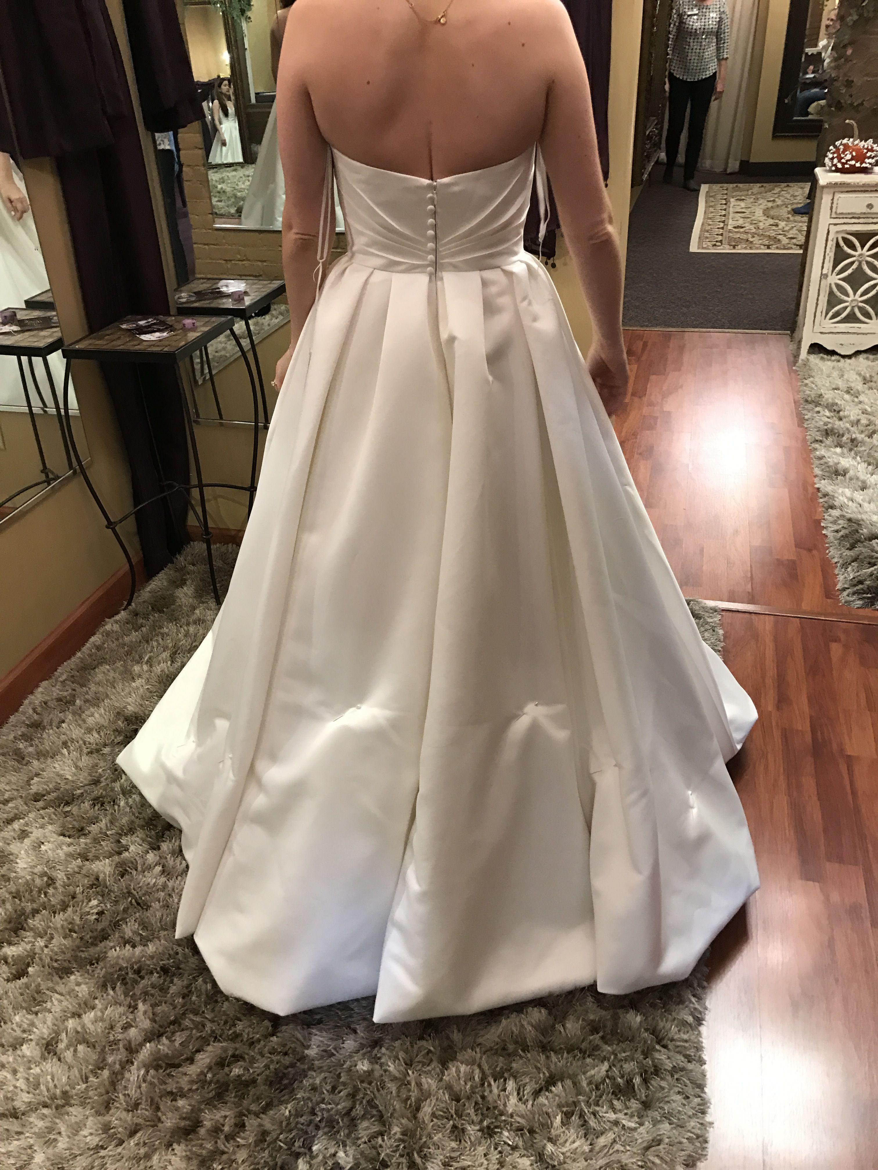 French Bustle On Lace Wedding Dress Wedding Dress Bustle Wedding Dresses Wedding Dress Alterations