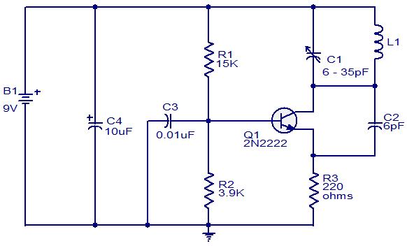 Fm Radio Jammer Circuit Diagram