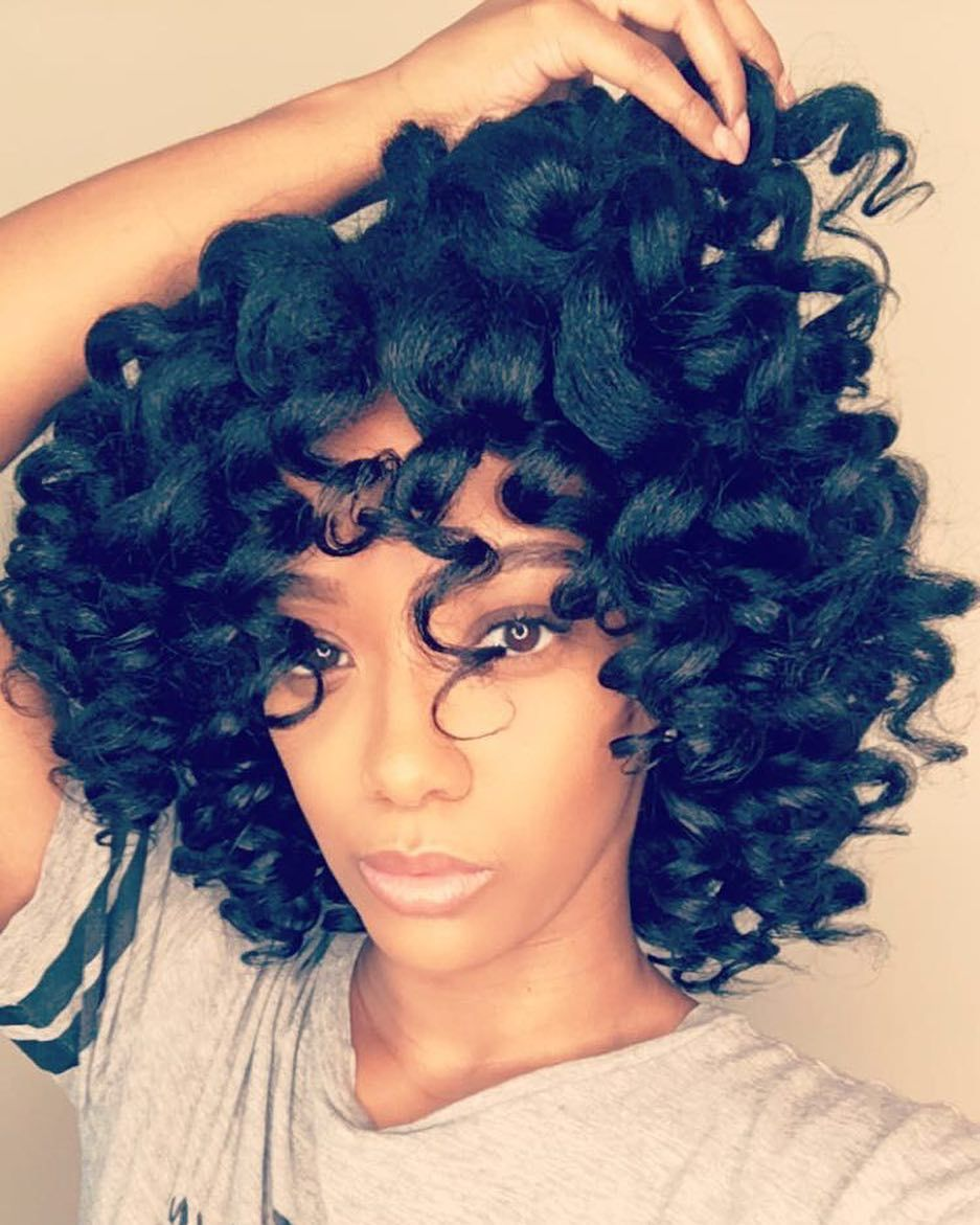 gorgeous natural hairstyles for when you want to look glam