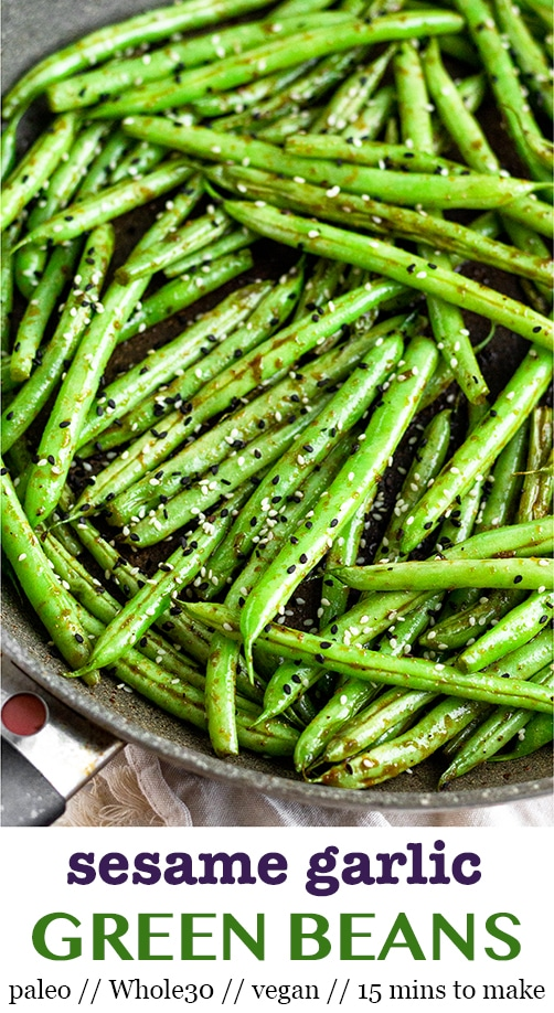 Sesame Garlic Green Beans images