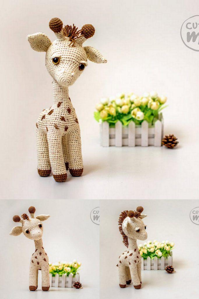 Amigurumi Pattern: Alfa Giraffe - Tarturumies | 1024x683