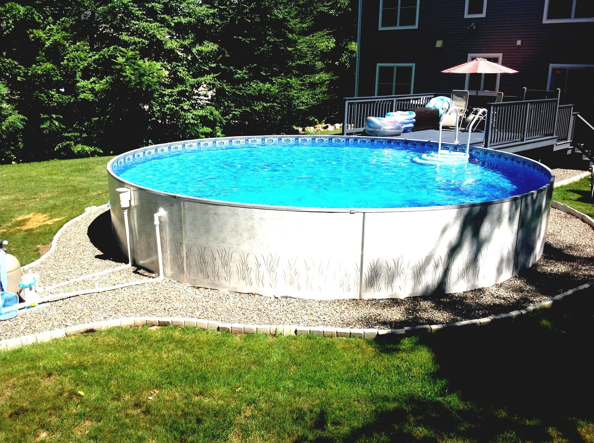 Inspirierend Pool Ideen Dekoration Von Kleine Deck Für Oben Genannte Boden-pool-ideen #gartendeko
