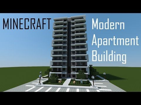 Minecraft Modern Apartment Building You