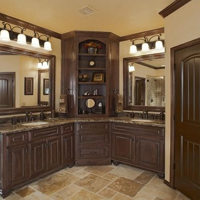 Bathroom Linen Cabinet On Bathroom Vanity Corner Cabinets Design Ideas Pictures Remodel And