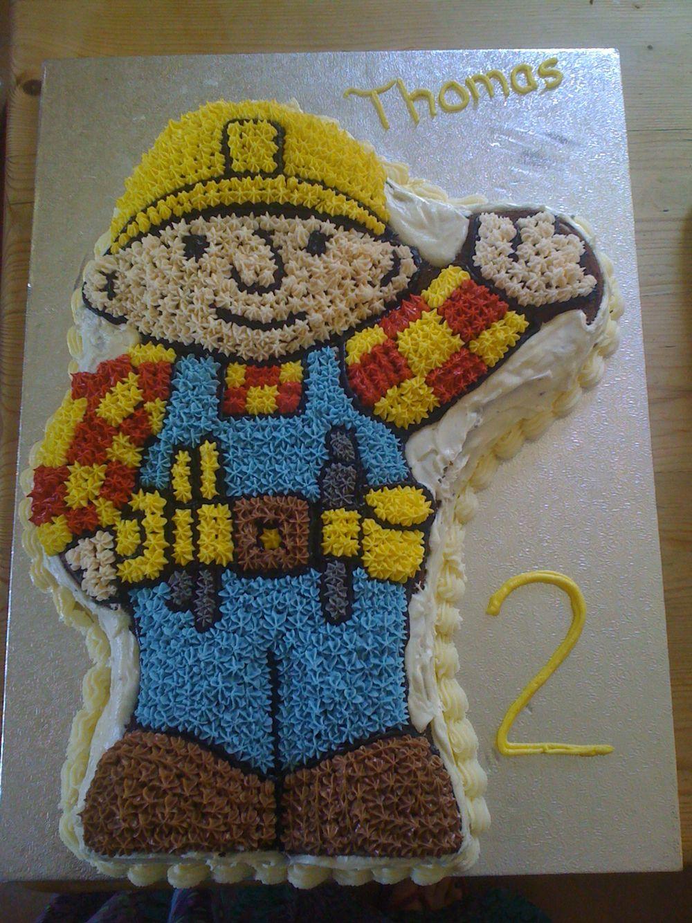 Bob the builder birthday cake | Birthday Parties | Pinterest | Bob ...