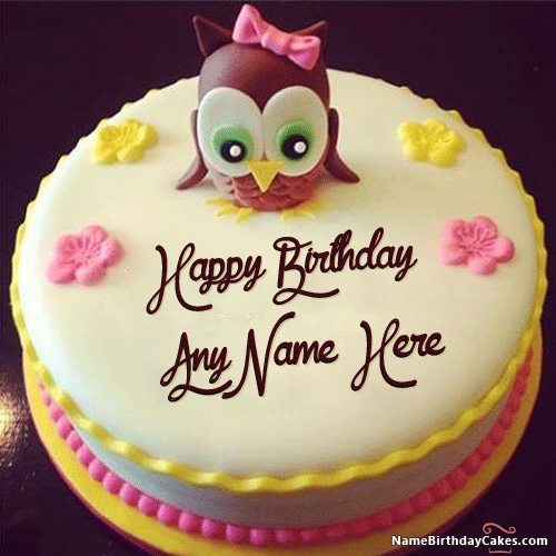 Cartoon Birthday Cake For Kids With Name Gopalji Pinterest
