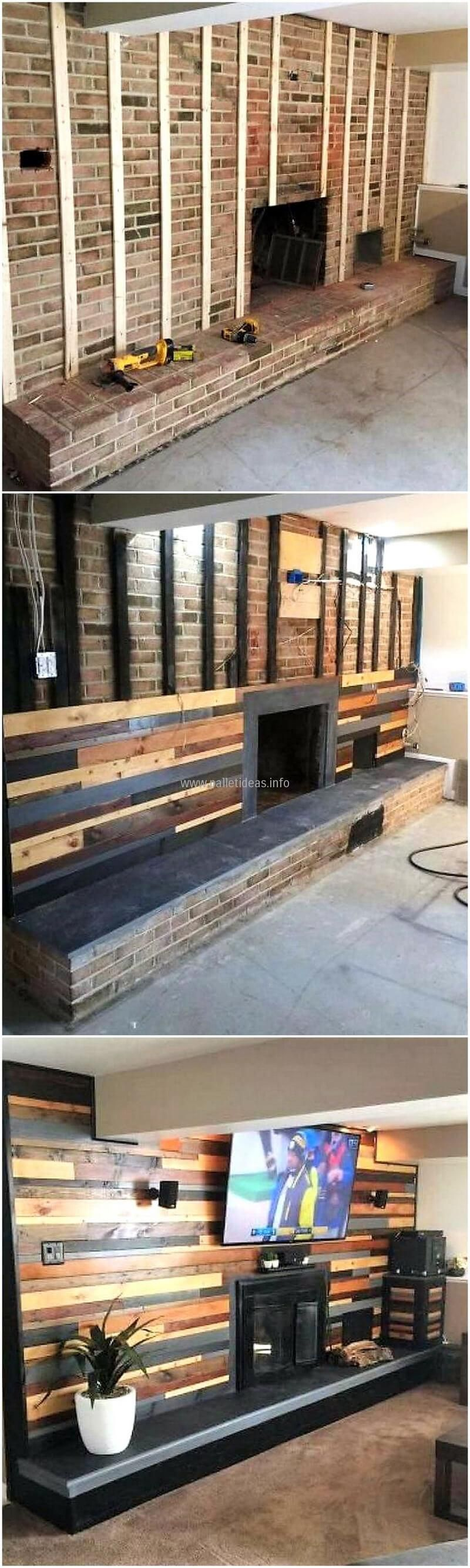 Diy wood pallet wall art pallets pinterest pallet wall art