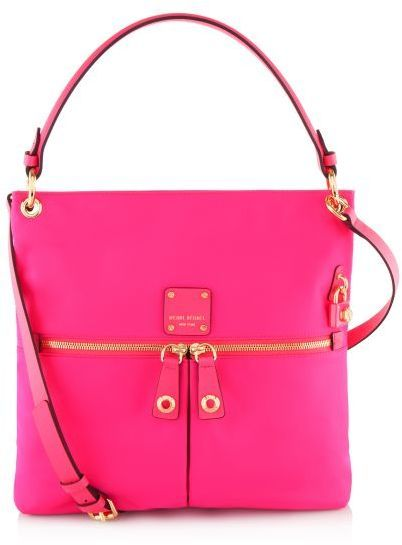 Neon Pink Leather Crossbody Bag By Henri Bendel For 198 From