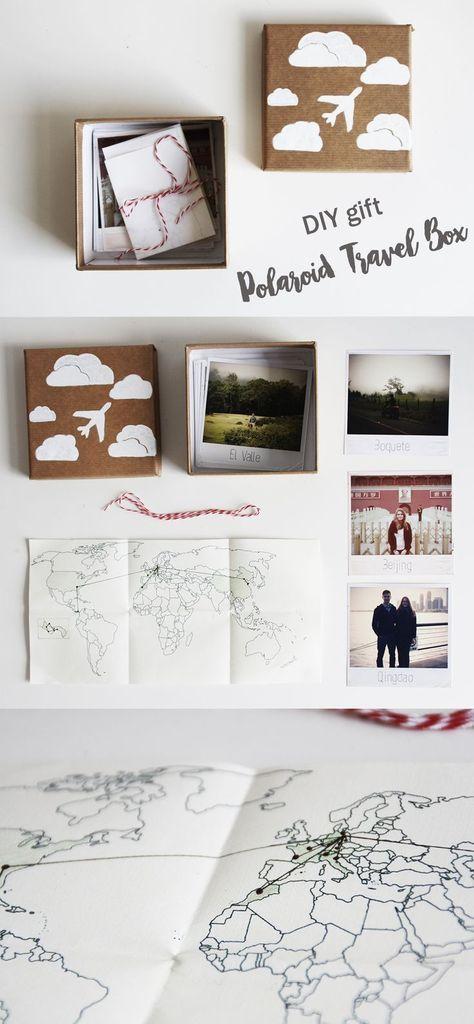 Diy geschenk polaroid reise kiste do it yourself gift idea travel diy geschenk polaroid reise kiste do it yourself gift idea travel box weltkarte solutioingenieria Images