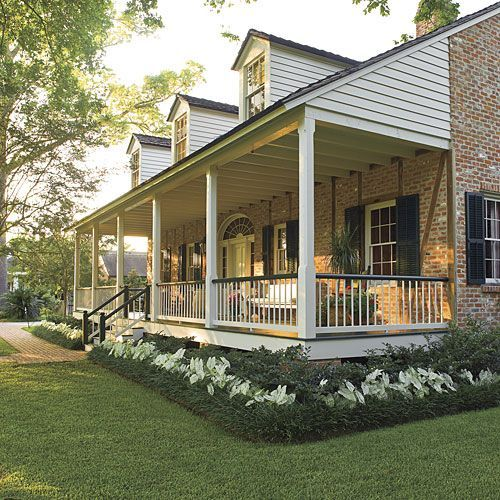 Inspiring Landscaping Ideas Front Porches Big Front 400 x 300
