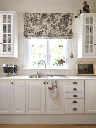 This sink | Kitchen | Ikea kitchen, Kitchen curtains ...