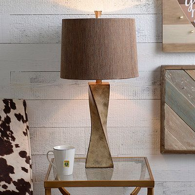 Kirklands cream twist table lamp our house pinterest kirklands cream twist table lamp aloadofball Image collections
