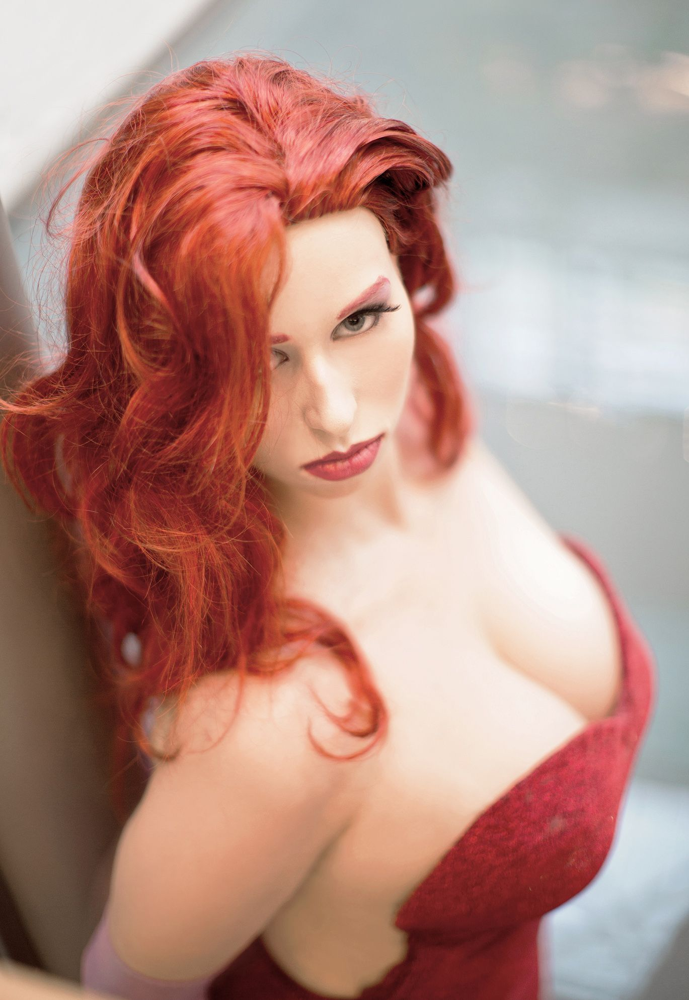 Hot Gaze By Mkuegleriantart On Deviantart Red Hair