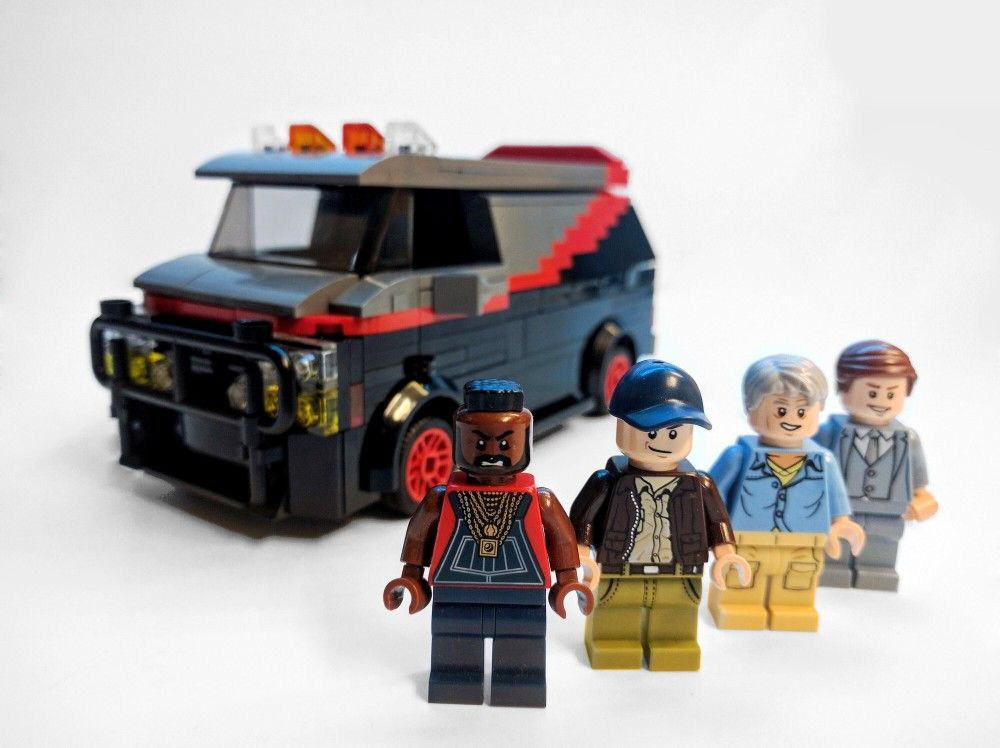 The A Team Lego Minifigure Lego Lego Custom Minifigures Lego