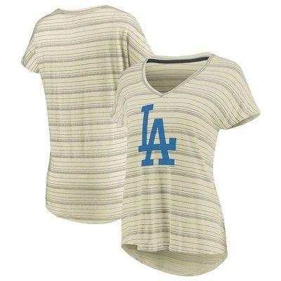 Los Angeles Dodgers Women's Starting Strong Cream Versalux T