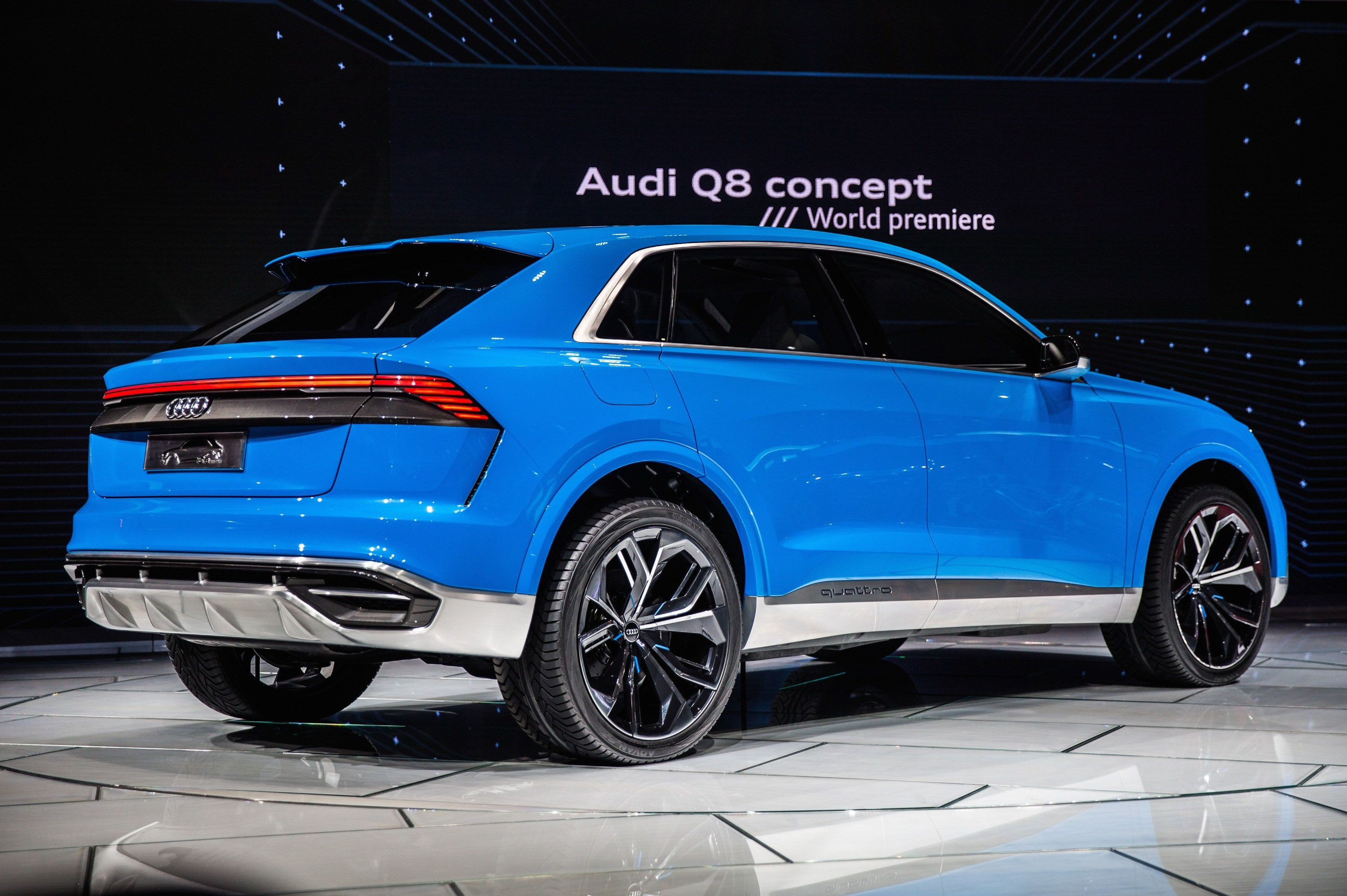 Audi Suv Range Could Expand To Include Q1 Q6 And Q9 New Audi