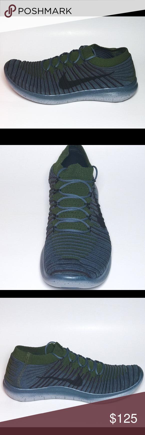 Nike Free RN Motion Flyknit Running 834584-403 Nike Free RN Motion Flyknit  Blue Fox