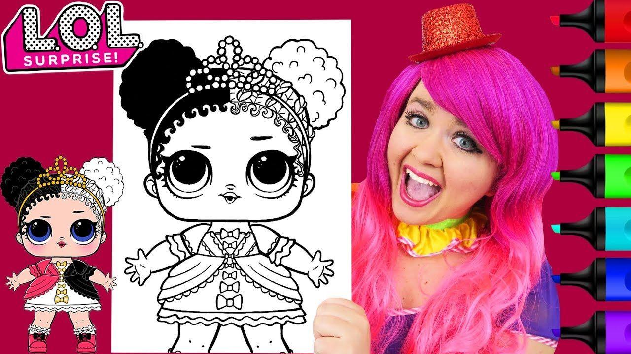 Coloring Lol Surprise Dolls Heartbreaker Coloring Page Prismacolor Marke Disney Princess Coloring Pages Disney Princess Colors Disney Colors
