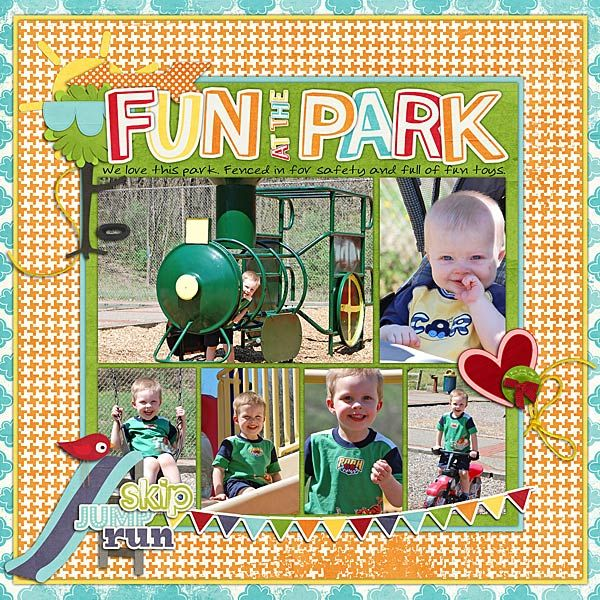 At the playground (kit and bonus alpha) and Olphelia Scribbles font all by WM[squared]