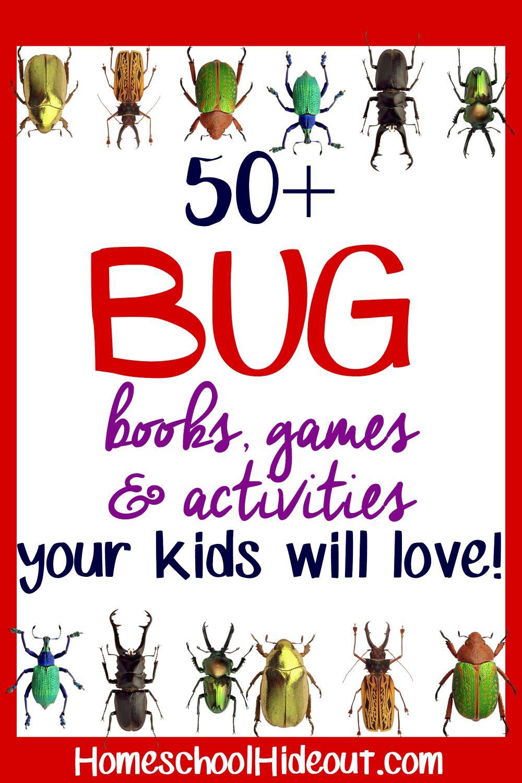 50 Bug Unit Study Supplies Homeschool Nature Study Unit Studies Homeschool Study Unit