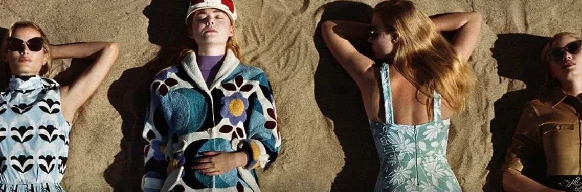 Discover the universe of @MiuMiu, the little sister of @Prada, and fall for the new collection of the brand!