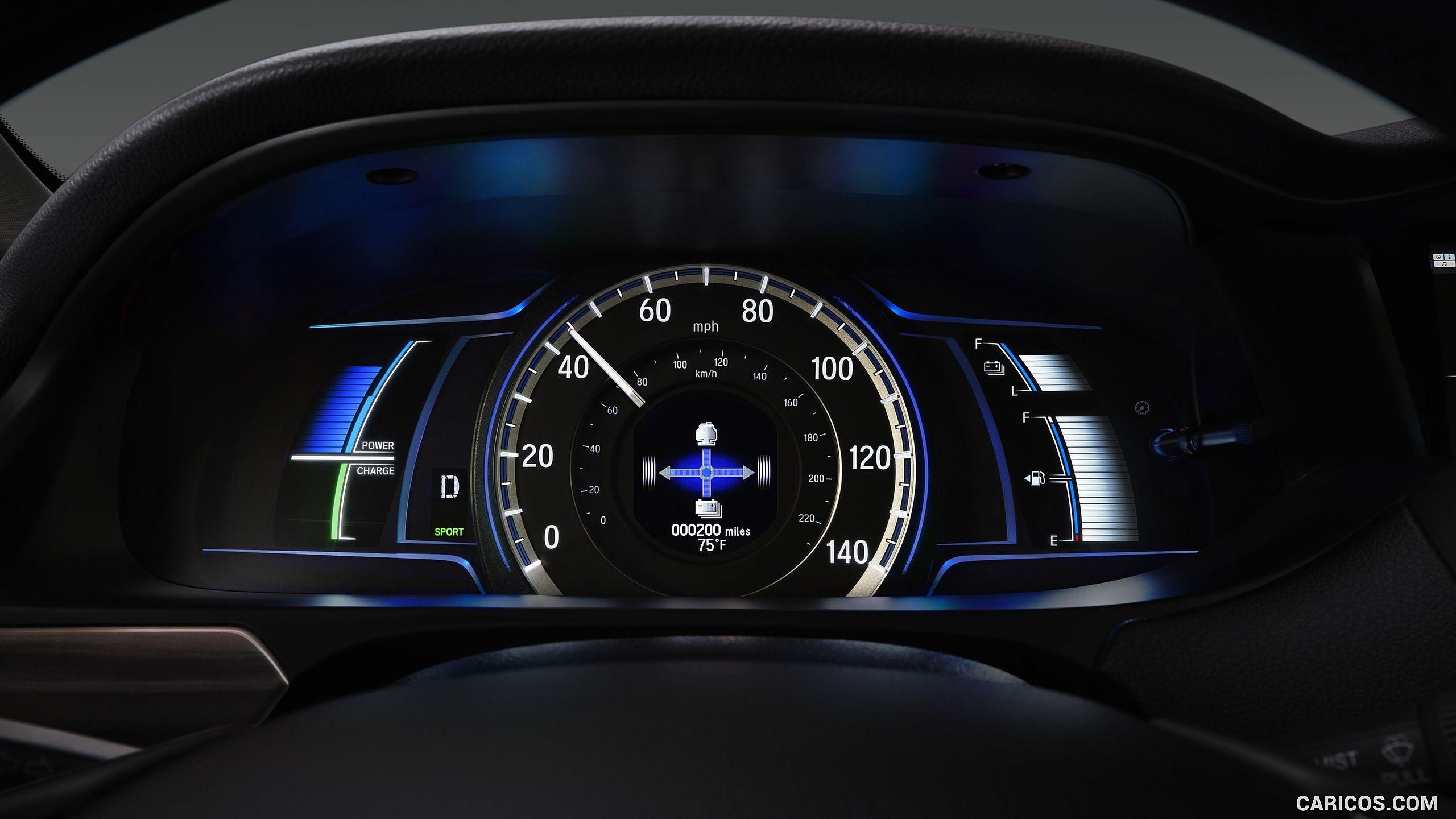 2017 Honda Accord Hybrid Instrument Cluster Hd Honda Accord