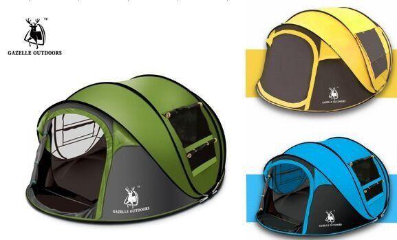 Gazelle Outdoors 2 Person Quick Set Pop Up Tent Tent