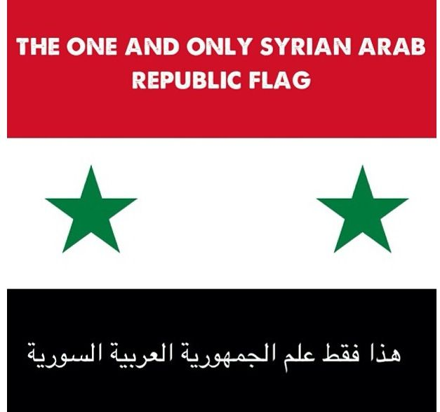 Simply The Truth Syrian Flag Republic Flag Image Quotes