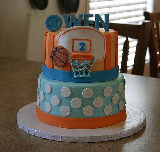 Basketball Birthday Cakes Pictures | Basketball Birthday Cake Decoration Ideas