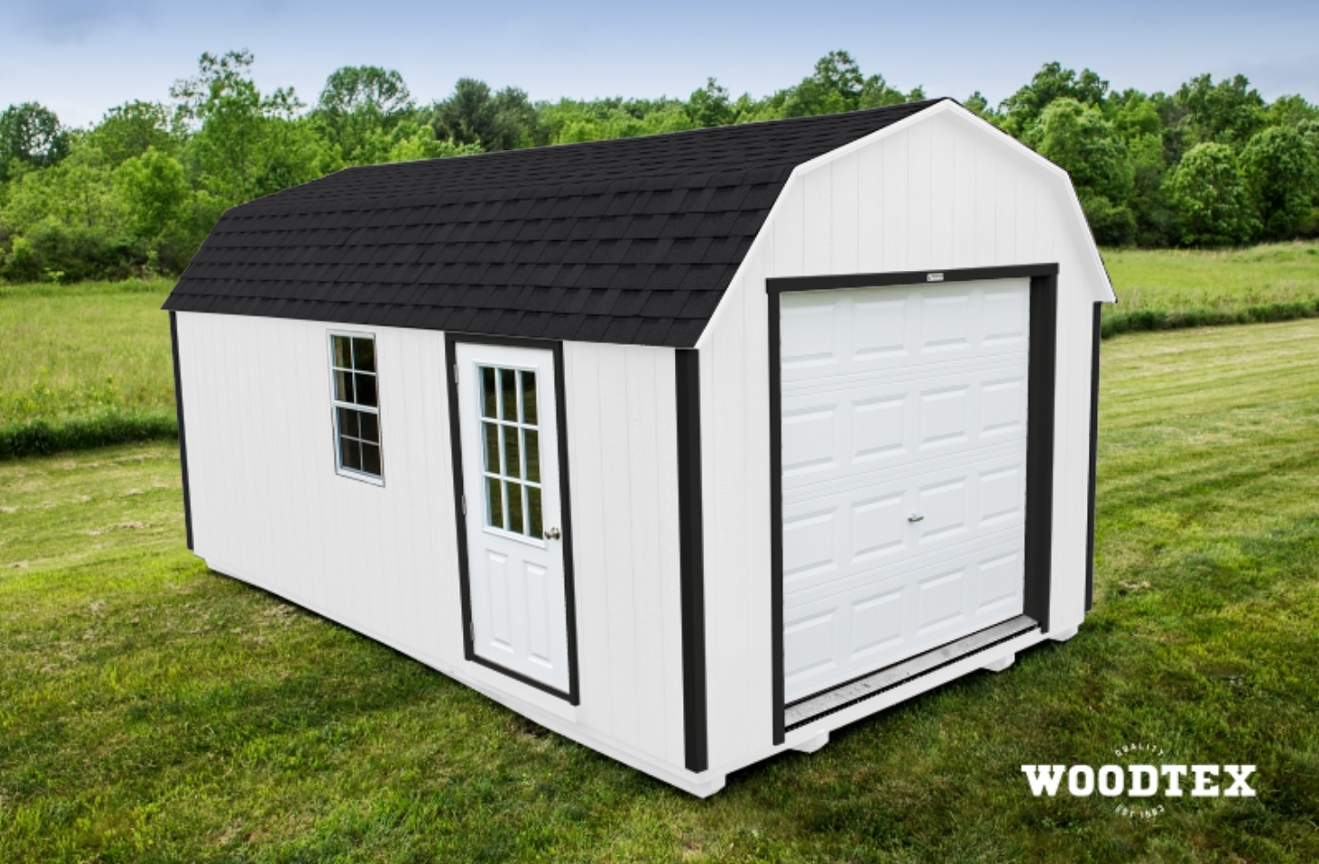 premium pole building door storage shed x photo garage pm for gambrel and features apr it sheds an