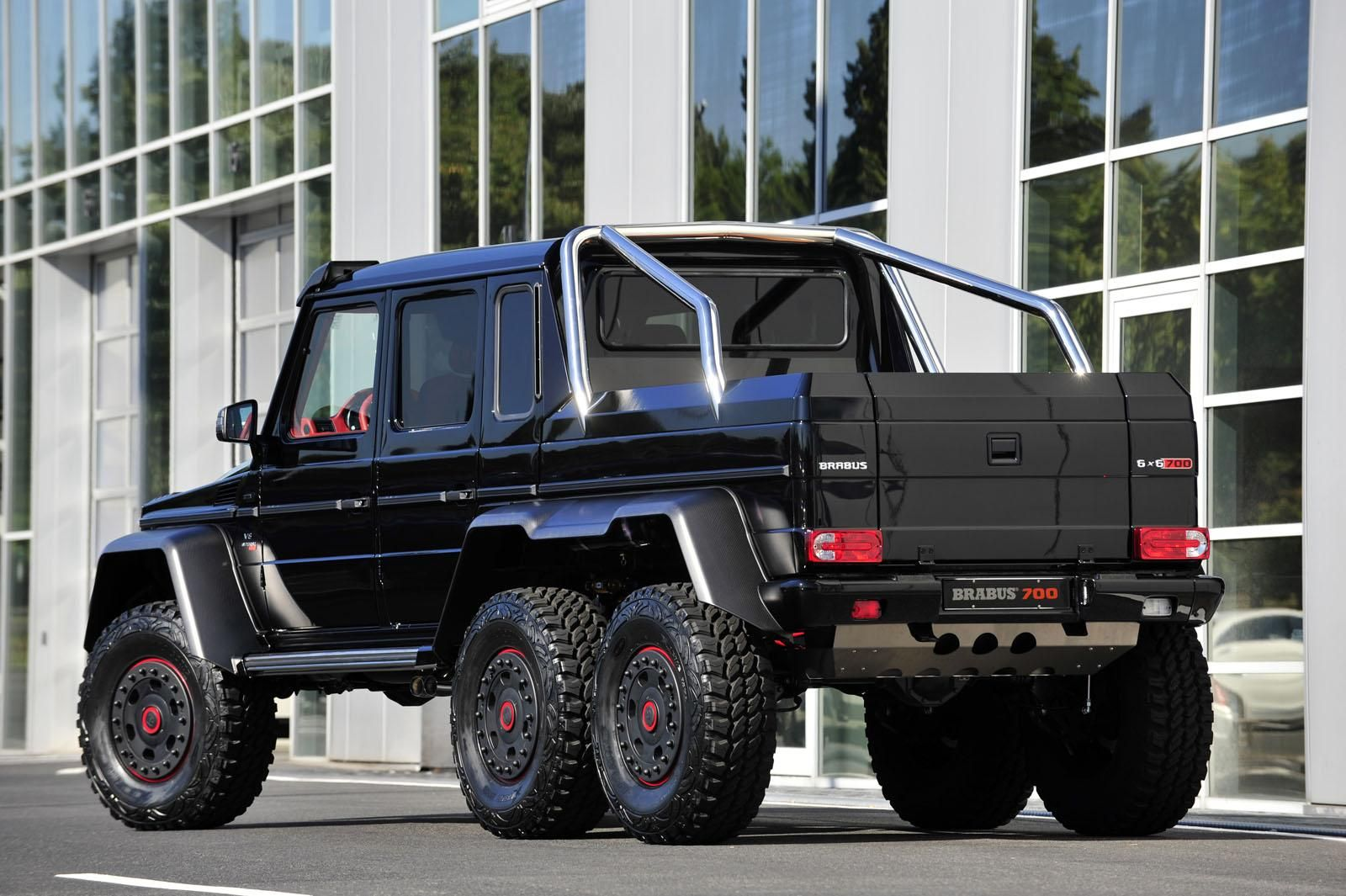 Brabus B63s Announced Based On The Mercedes G63 Amg 6x6 With