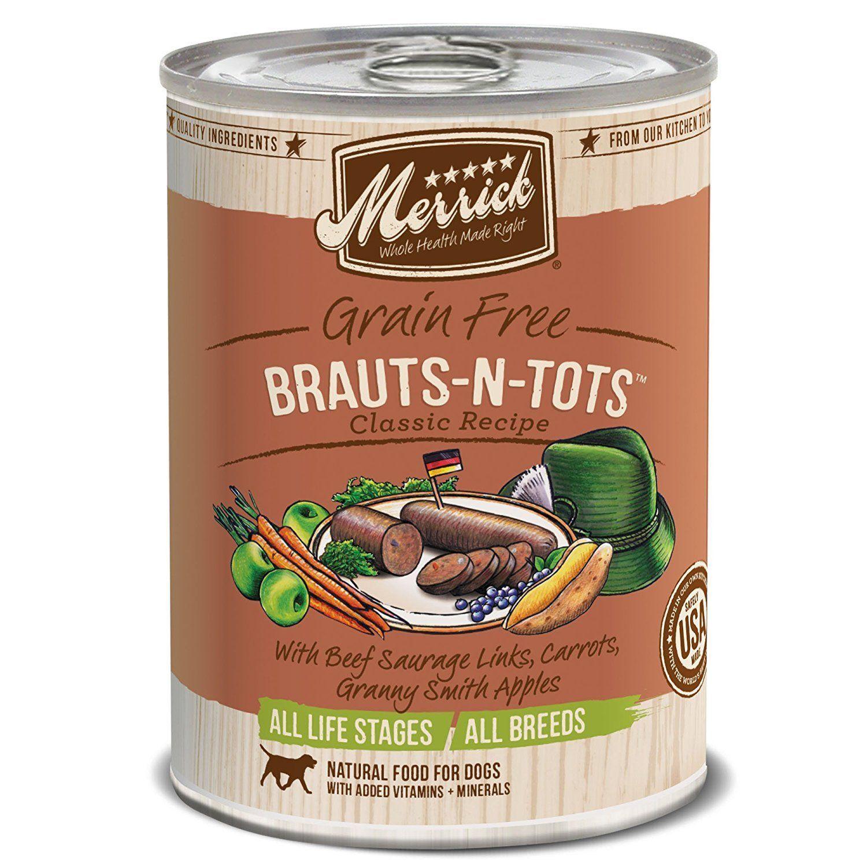 merrick canned dog food calories